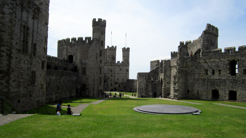 Caernarfon Castle - King Edward I created what is surely one of the most impressive of Wales's castles