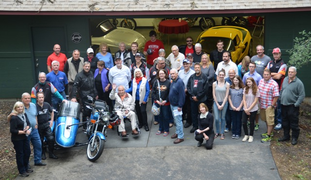 Scramblers, Gonsteads & invited guests