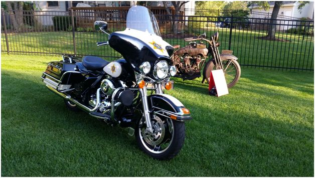 Harley Davidson Police Bike